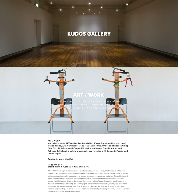 Alex Gawronski KUDOS gallery