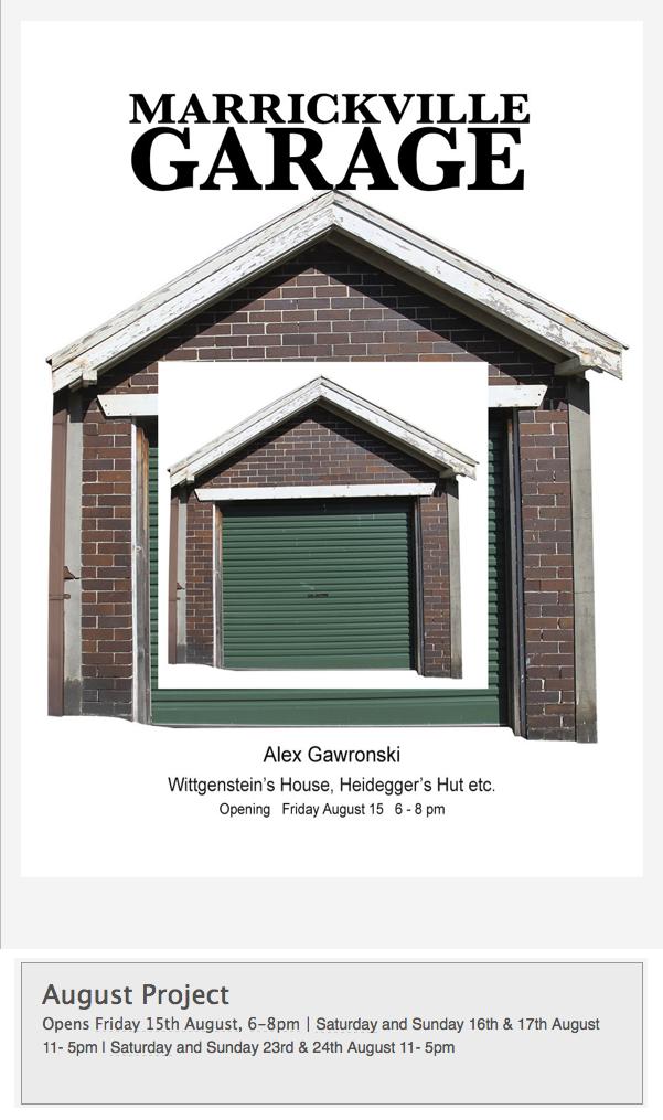 Alex Gawronski - Marrickville Garage