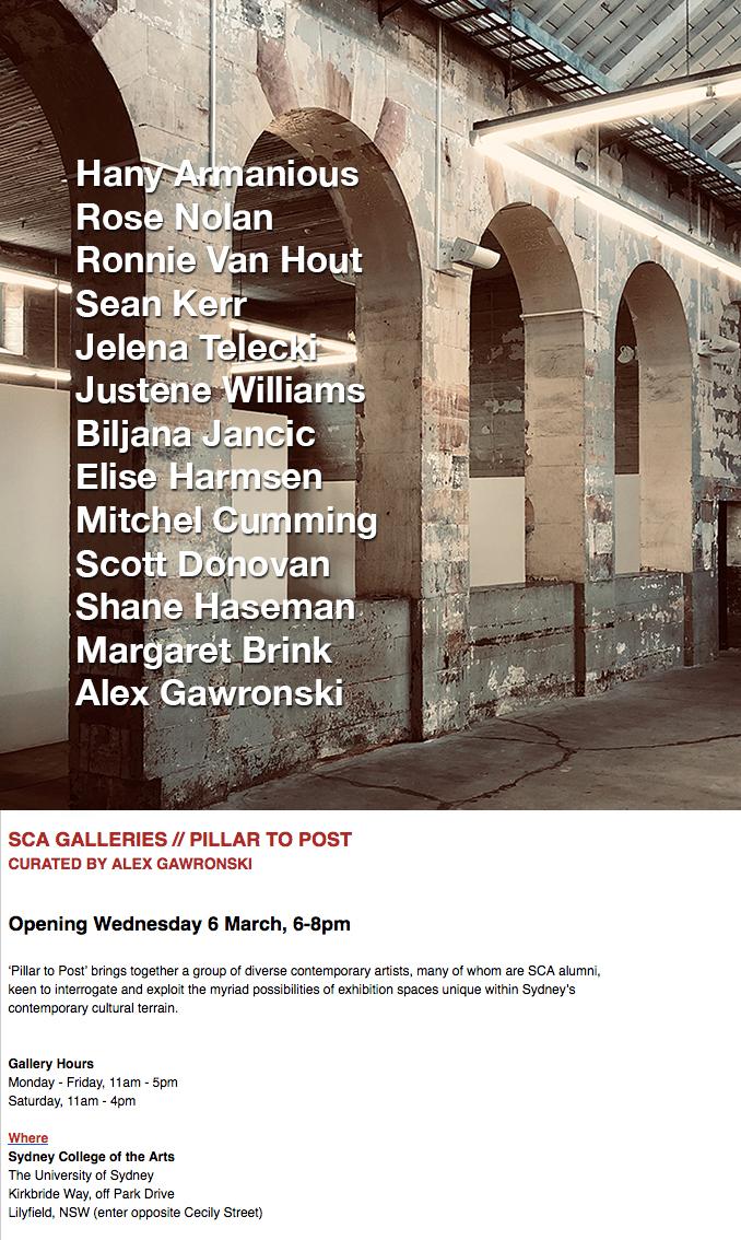Alex Gawronski - Pillar to Post