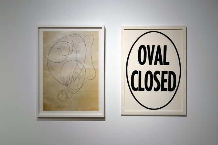 Alex Gawronski, Poetics of the Line, 2019, install 2