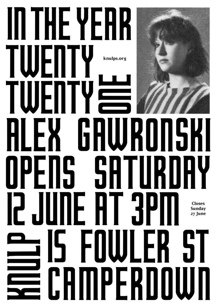 Alex Gawronski IN_THE_YEAR_TWENTY_TWENTY_ONE